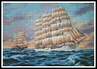 On the Australian Run - Cross Stitch Chart