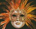 Orange Mask - Cross Stitch Chart