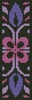 Ornamental Bookmark 2 - Cross Stitch Chart
