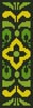 Ornamental Bookmark 3 - Cross Stitch Chart