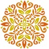 Ornamental Floral 1 - Cross Stitch Chart