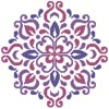 Ornamental Floral 2 - Cross Stitch Chart
