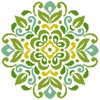 Ornamental Floral 3 - Cross Stitch Chart