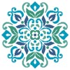 Ornamental Floral 4 - Cross Stitch Chart