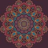 Ornamental Mandala - Cross Stitch Chart