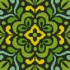 Ornamental Square 3 - Cross Stitch Chart