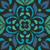 Ornamental Square 4 - Cross Stitch Chart