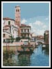 The Palazzo, Venice - Cross Stitch Chart