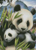 Panda and Cub - Cross Stitch Chart