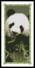 Panda Bookmark - Cross Stitch Chart