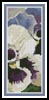 Pansies Bookmark - Cross Stitch Chart
