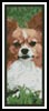 Papillon Bookmark 2 - Cross Stitch Chart
