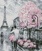 Paris Abstract (Crop) - Cross Stitch Chart