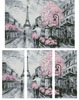 Paris Abstract (Large) - Cross Stitch Chart