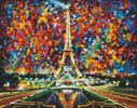 Paris of My Dreams (Large) - Cross Stitch Chart