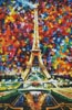 Paris of My Dreams (Large Crop) - Cross Stitch Chart