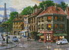 Paris Streets - Cross Stitch Chart