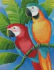 Parrots - Cross Stitch Chart