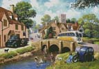 Past Time at the River - Cross Stitch Chart