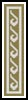 Pattern Bookmark 1 - Cross Stitch Chart