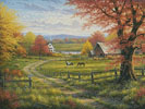 Peaceful Tranquility - Cross Stitch Chart