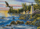 Peaceful Waters - Cross Stitch Chart