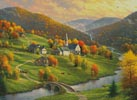 Peace in the Valley - Cross Stitch Chart