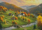Peace in the Valley (Large) - Cross Stitch Chart
