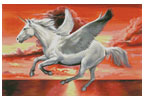Pegasus Sunset - Cross Stitch Chart