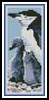 Penguins Bookmark - Cross Stitch Chart
