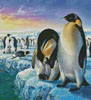 Penguins (Crop) - Cross Stitch Chart