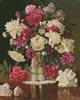 Peonies - Cross Stitch Chart