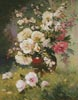 Peonies and Cerisiers - Cross Stitch Chart