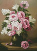 Peony and Lilac - Cross Stitch Chart