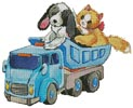 Pet Playtime - Cross Stitch Chart