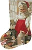 Pinch of Cheer Stocking (Left) - Cross Stitch Chart