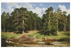 Pine Forest - Cross Stitch Chart