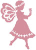 Pink Fairy - Cross Stitch Chart