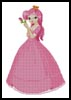 Pink Princess - Cross Stitch Chart