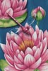 Pink Waterlilies - Cross Stitch Chart