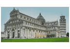 Pisa Cathedral in the Day - Cross Stitch Chart