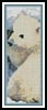 Polar Bear Cub Bookmark - Cross Stitch Chart