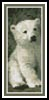 Polar Bear Cub 2 Bookmark - Cross Stitch Chart