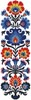 Polish Folk Art Design 1 - Cross Stitch Chart