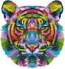 Pop Art Tiger - Cross Stitch Chart