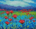 Poppy Study - Cross Stitch Chart
