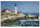 Portland Head Lighthouse - Cross Stitch Chart