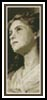 Portrait Young Girl Bookmark - Cross Stitch Chart
