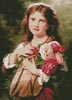 Portrait of a Young Girl - Cross Stitch Chart