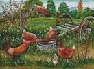 Poultry Peckin' Pals - Cross Stitch Chart